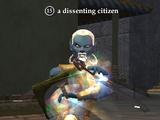 A dissenting citizen