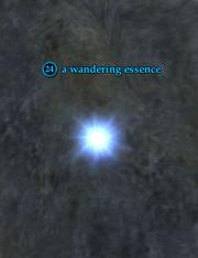 A wandering essence