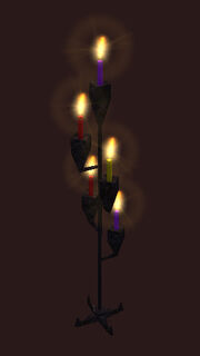 An Enchanters Candelabra Placed