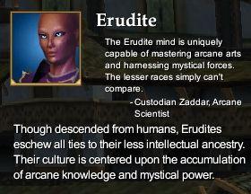 Erudit (Charakter Rasse)