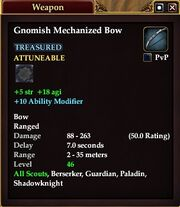 Gnomish Mechanized Bow