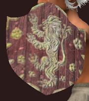Iridescent Kite Shield (Equipped)