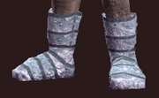 Lucid Primalist's Chain Boots (Equipped)