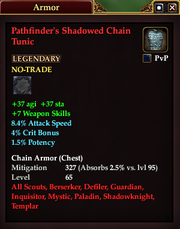 Pathfinder's Shadowed Chain Tunic