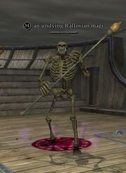 An undying Rallosian magi