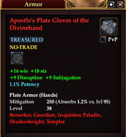 Apostle's Plate Gloves of the Divinehand