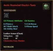 Arctic Frostwind Oracle's Tunic