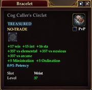 Cog Caller's Circlet