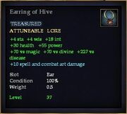 Earring of Hive