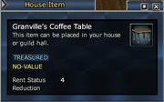 Granville's Coffee Table