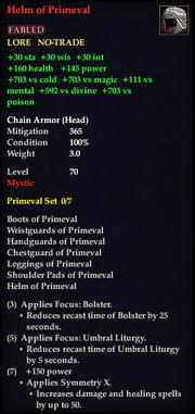 Helm of Primeval