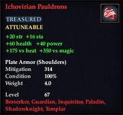 Ichovirian Pauldrons