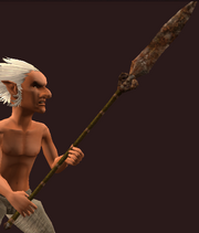 Iron Great Spear (Equipped)
