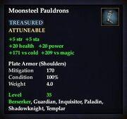 Moonsteel Pauldrons