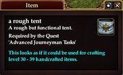 Rough Tent