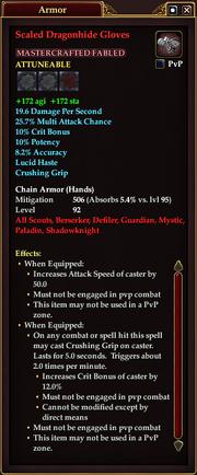 Scaled Dragonhide Gloves