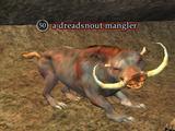 A dreadsnout mangler