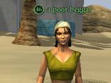 A poor beggar