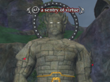 A sentry of virtue