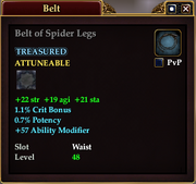Belt of Spider Legs