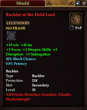 Buckler of the Field Lord