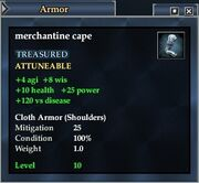 Merchantine cape