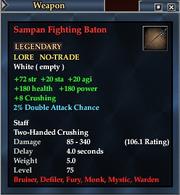 Sampan Fighting Baton