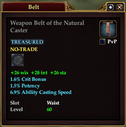 Weapon Belt of the Natural Caster