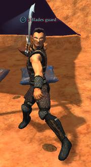 A Blades guard pof