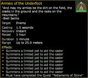 Armies of the Underfoot