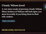 Cloudy Velium Jewel