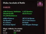 Diaku Accolade of Battle