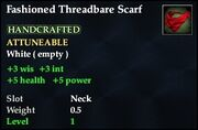 Fashioned Threadbare Scarf