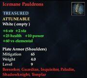 Icemane Pauldrons