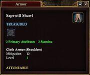 Sapswill Shawl