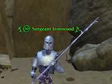 Sergeant Ironwood