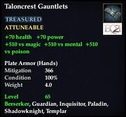 Taloncrest Gauntlets