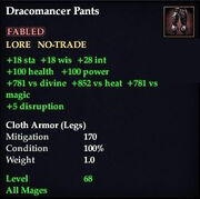 Dracomancer Pants