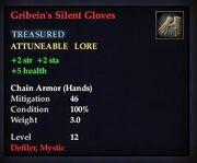 Gribein's Silent Gloves