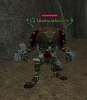 Lieutenant Kulvetch