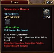 Skirmisher's Bracers