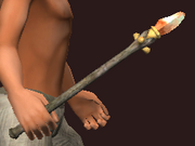Wand of Divine Fear (Equipped)