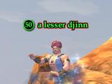 A lesser djinn (Monster)