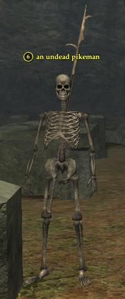 An undead pikeman