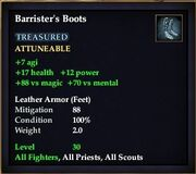 Barrister's Boots