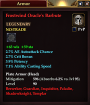 Frostwind Oracle's Barbute