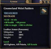 Gnomeland Wrist Padders