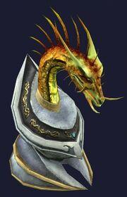 Trophy Waansu's Head (visible)