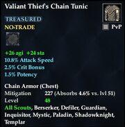 Valiant Thief's Chain Tunic