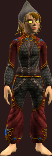 Vesspyr Citizen's Red Tunic (Equipped)